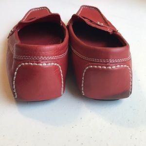 Cole Haan Shoes - Cole  Haan red leather driving shoes size 7.5 M